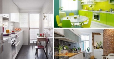 Cocinas modernas y pequeñas para inspirarte