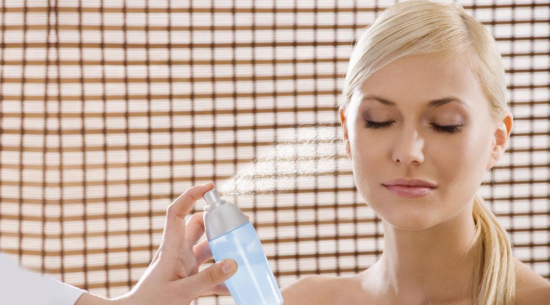 aceites esenciales niebla humectante