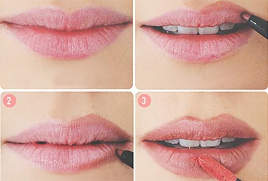 resaltar los labios con maquillaje