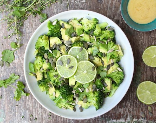 recetas con brócoli y limón