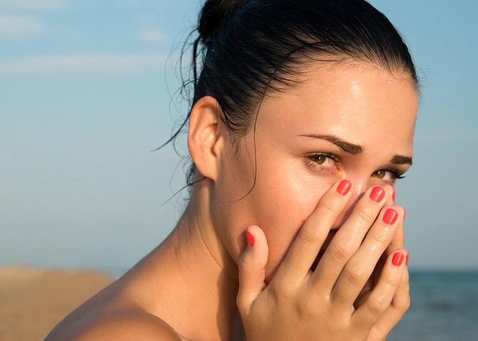 Remedio natural para tratar los ojos irritados