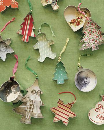 adornos de navidad con cortantes
