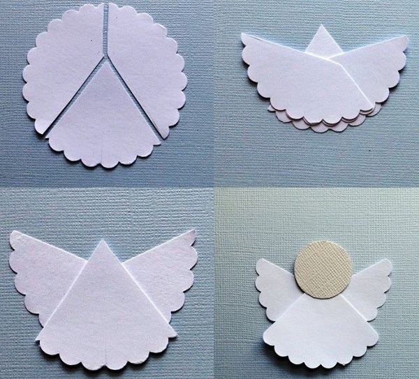angelitos de papel