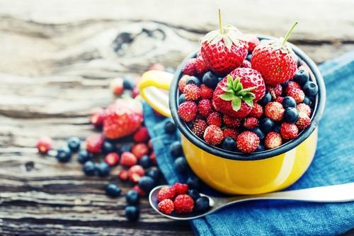 bayas y otros frutos rojos para la resistencia a la insulina