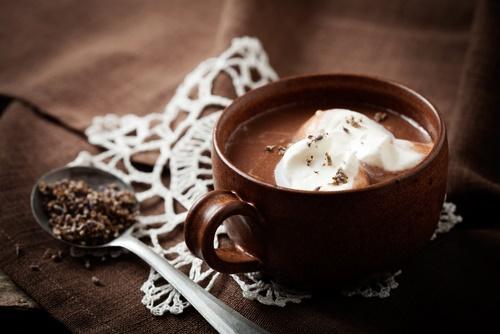chocolate caliente para combatir el frío
