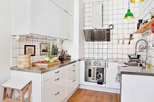 Cocinas modernas y peque as para inspirarte - Cocinas muy pequenas ...