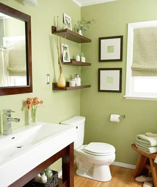 colores cuarto de baño y la salud emocional