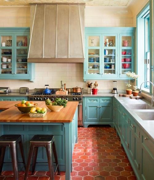 colores en las paredes de la cocina