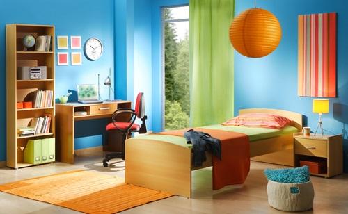 colores en las paredes de las habitaciones