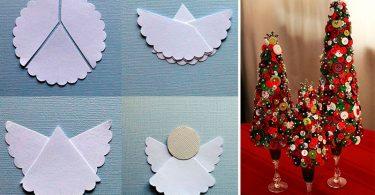 manualidades para hacer decoración para navidad