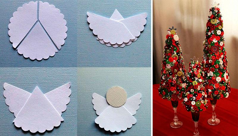 10 manualidades para decorar en esta navidad y reciclar objetos - Manualidades para decorar en navidad ...