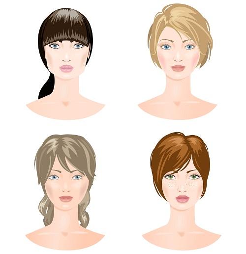diferentes tipos de rosrtro