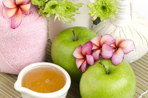 mascarilla de manzana para tratar la piel grasa