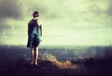 mujer drama triste depresión