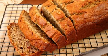 Receta de pan de platano