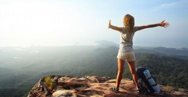 perseverar paciencia mujer montaña