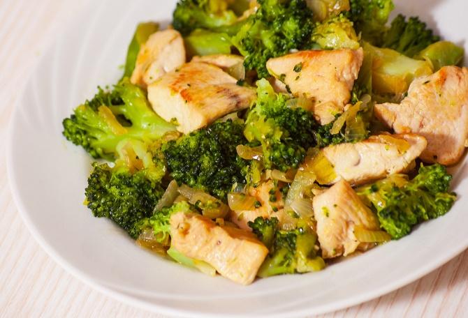 recetas con brócoli y pollo
