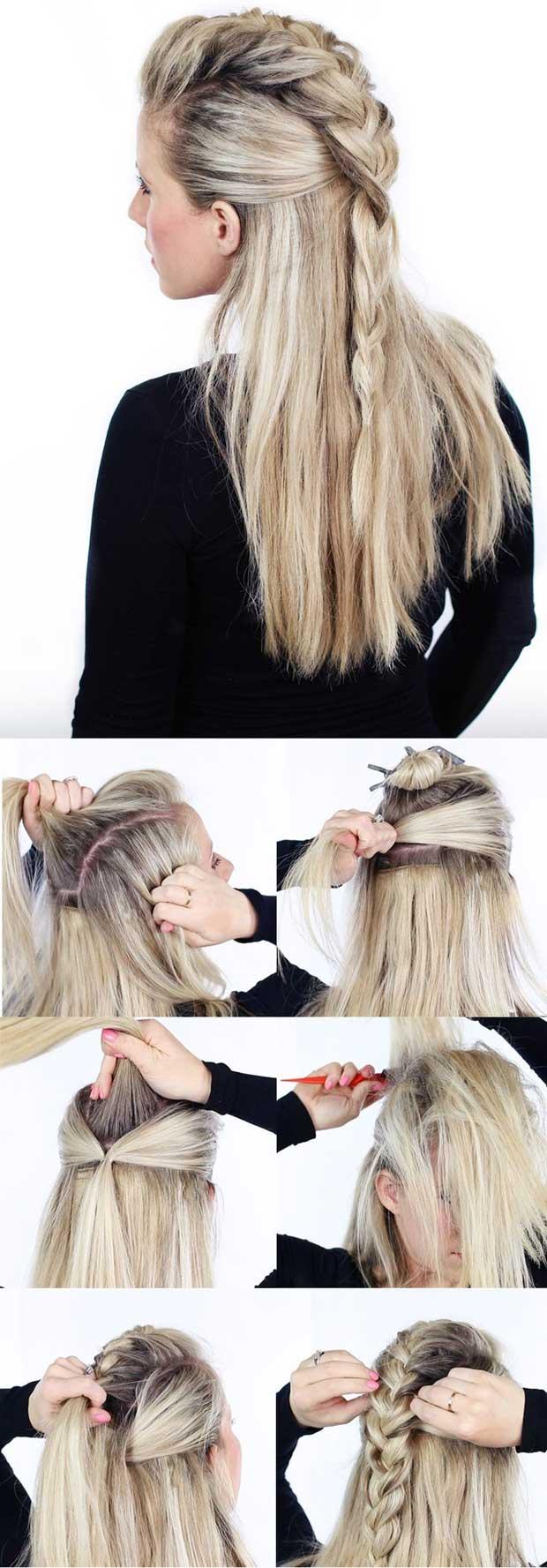 trenza-cocida-con-cabello-suelto