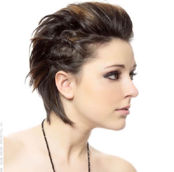 Diferentes versiones peinados para pelo muy corto Fotos de ideas de color de pelo - Formas de peinados para el cabello corto