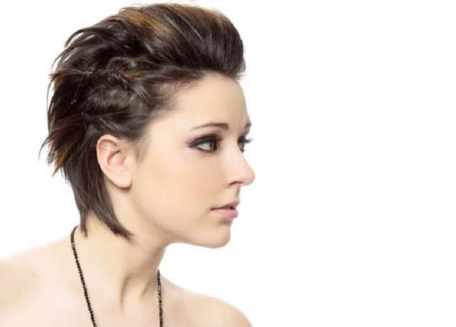Diferentes formas de pelo corto