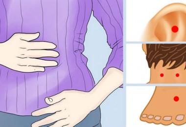 10 puntos de presión para aliviar la distensión abdominal