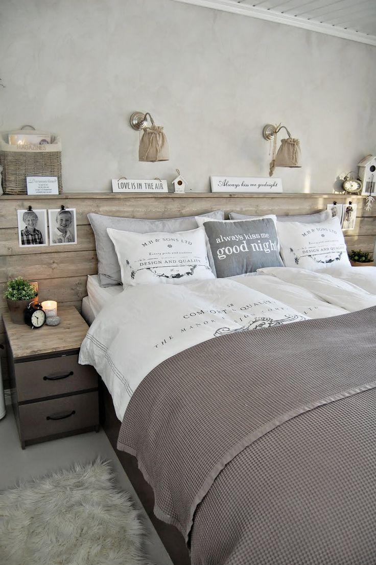 estilos de cama rústicos