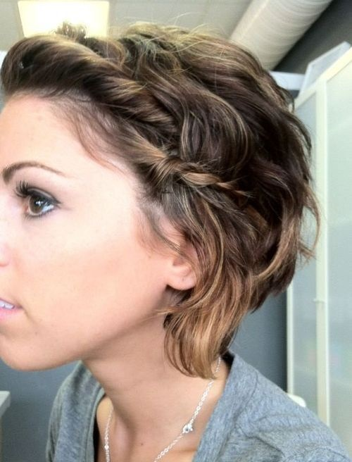 peinados para fiestas pelo corto