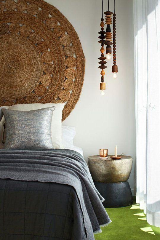 estilos de camas bohemio