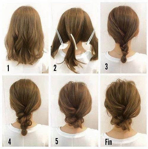 peinados para fiestas muy sencillos y fáciles