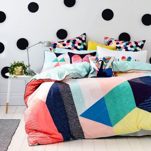 estilos de camas con colores