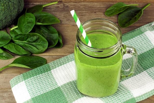 Bebidas verdes que ayudan a quemar grasa