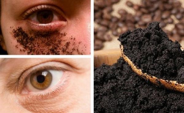 Crema de café para mejorar el contorno de los ojos