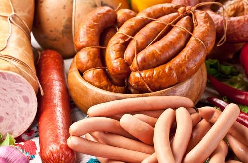 Pølser fyldt med inflammatoriske fødevarer