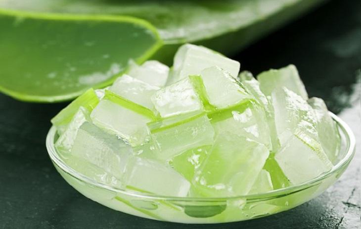 beneficios de congelar aloe vera