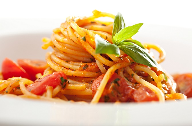 espagueti cremoso