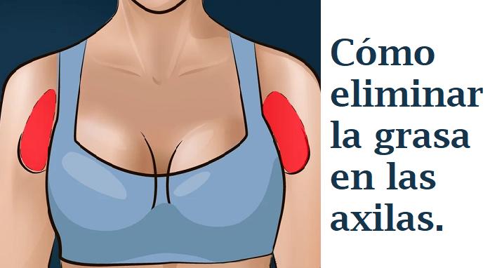 Image result for Cómo eliminar la grasa en las axilas