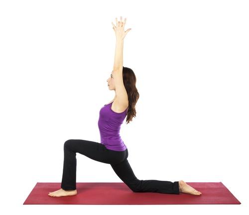 aliviar la inflamación con ejercicios y posturas