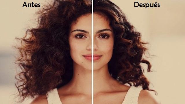 Cuidado del cabello crespo. cosmética natural pelo