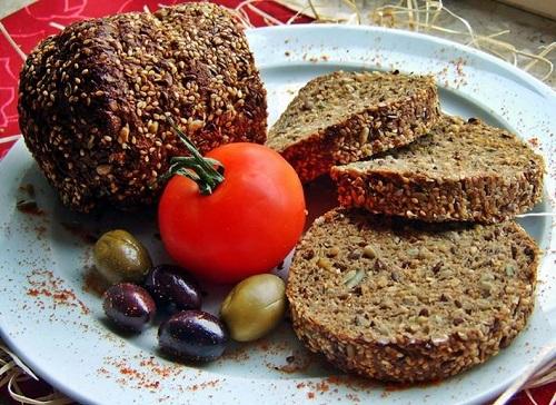 Receta para elaborar un pan protéico