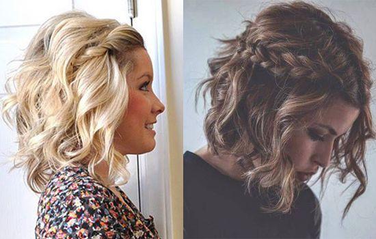 Nuevos peinados para pelo corto f ciles de hacer - Como hacer peinado para boda ...