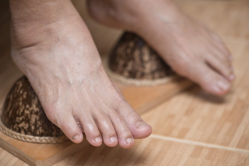 cosmética natural pies
