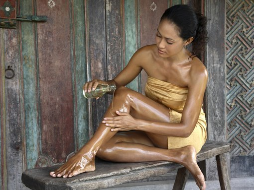 cosmética natural para piernas
