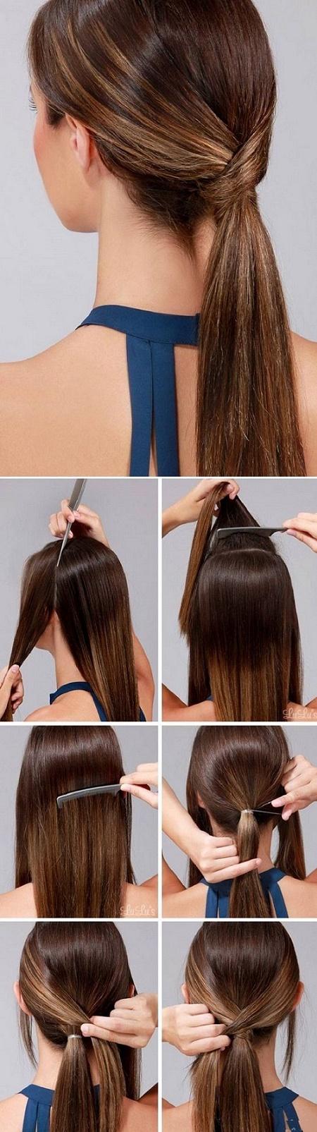Peinados para bodas ideales para invitadas - Como hacer peinado para boda ...