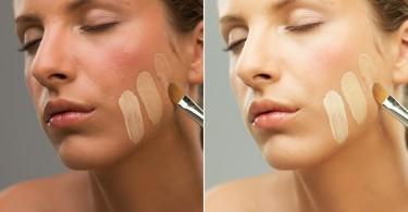 base de maquillaje para el rostro
