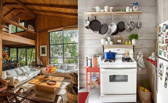 Dise os de caba as r sticas para inspirarte for Disenos de cocinas campestres