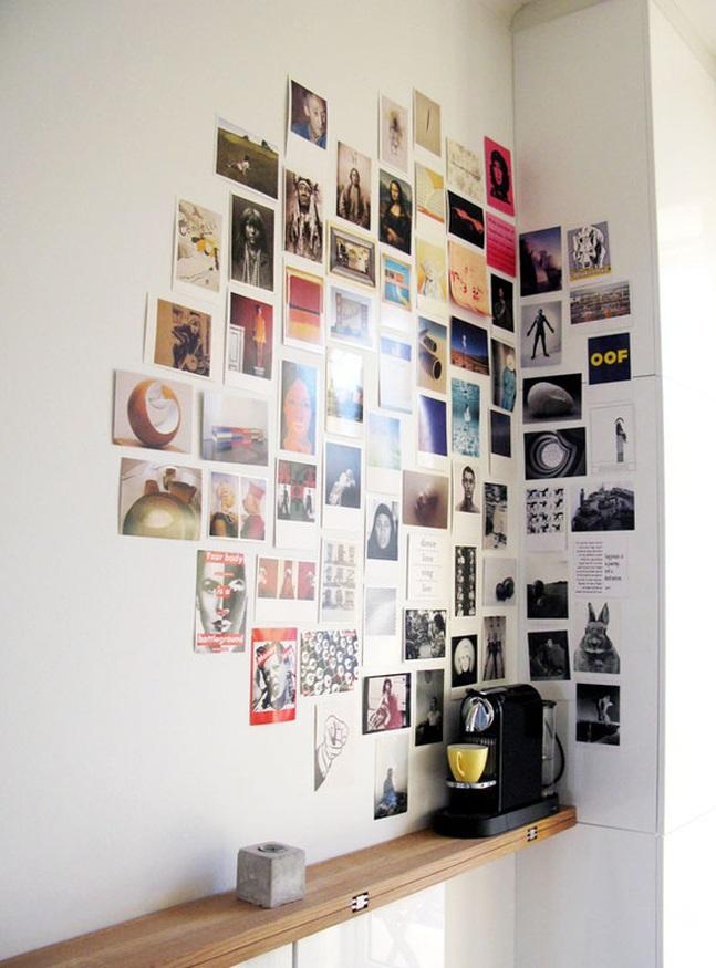 cuadro collage de fotografías