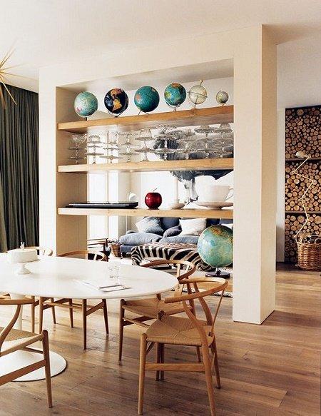 30 ideas de separadores de espacios para la casa for Lavadero empotrado