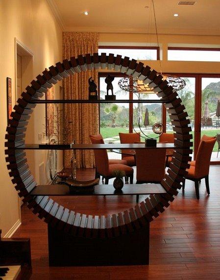 divisor de espacios circular