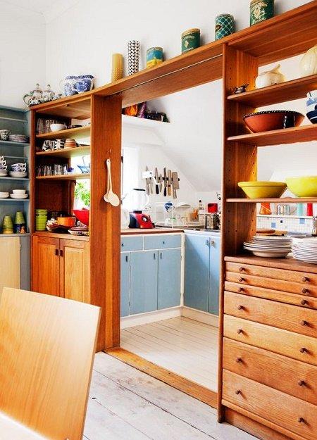 30 ideas de divisores de espacios taringa for Divisiones para sala y cocina