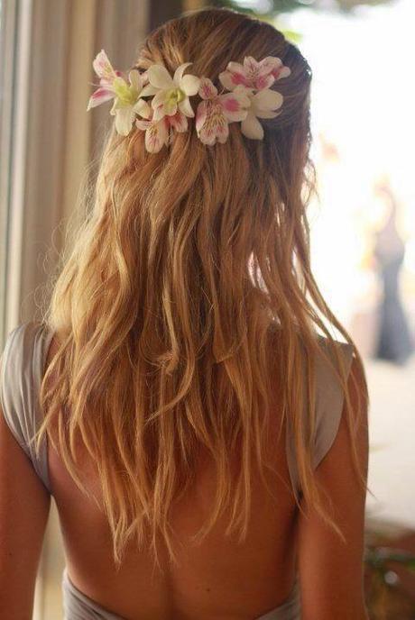 peinados para boda recogido floral